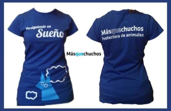 Camiseta Chica Azul 14€